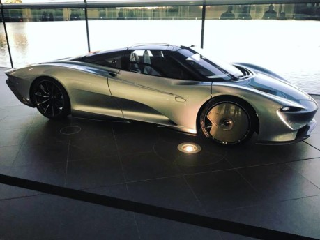 McLaren Speedtail squares up to real-world testing 8