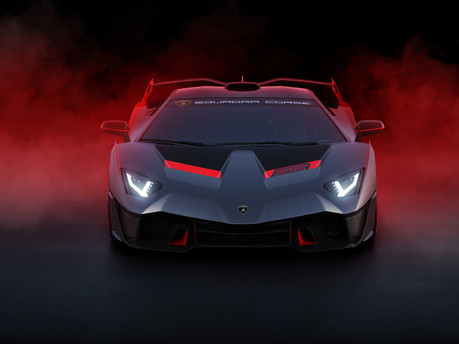 Lamborghini SC18: the first 'one-off' commission created by Squadra Corse 4