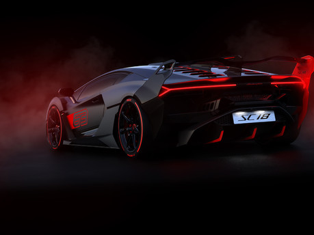 Lamborghini SC18: the first 'one-off' commission created by Squadra Corse 2