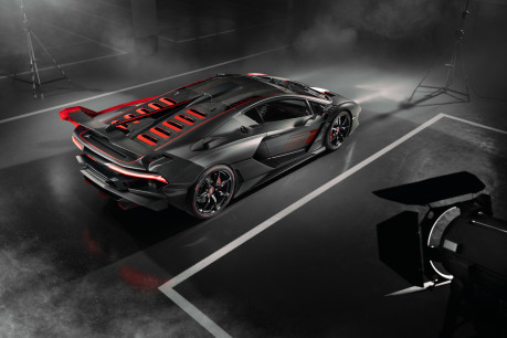 Lamborghini SC18: the first 'one-off' commission created by Squadra Corse 10