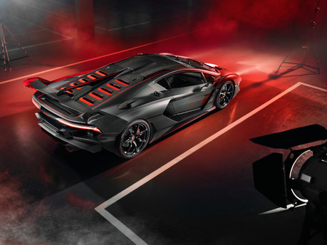 Lamborghini SC18: the first 'one-off' commission created by Squadra Corse 8