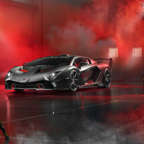 Lamborghini SC18: the first 'one-off' commission created by Squadra Corse