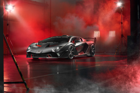 Lamborghini SC18: the first 'one-off' commission created by Squadra Corse 6