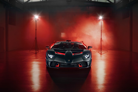 Lamborghini SC18: the first 'one-off' commission created by Squadra Corse 7