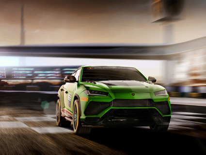 Lamborghini have developed a racing version of the Rambo Lambo