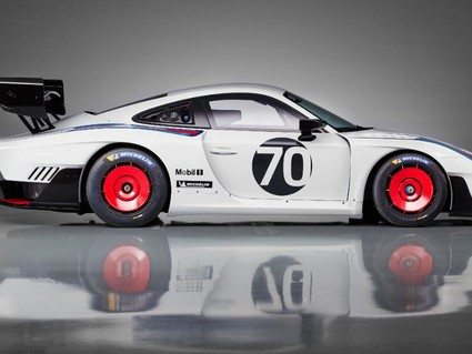 "We're already fans of Porsche's ""Moby Dick"" inspired 935…"
