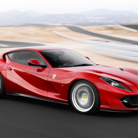Rumours swirl of a convertible version of the Ferrari 812 Superfast. 2