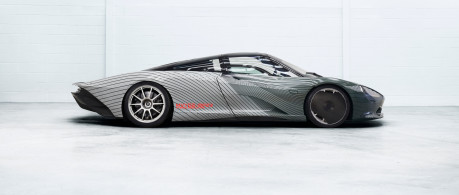 McLaren Speedtail squares up to real-world testing