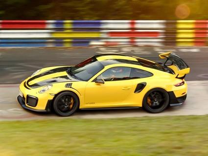 Porsche obliterates Nurburgring record
