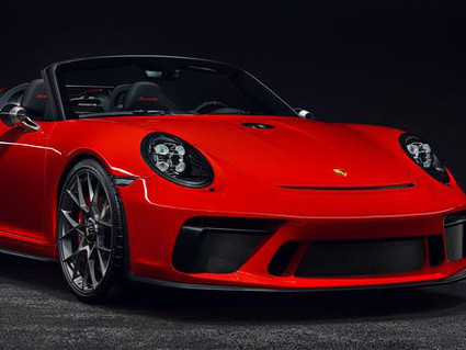Porsche announces plans to produce the 911 Speedster