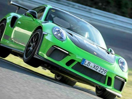 Watch the moment the Porsche 911 GT3 RS smashes the Nürburgring in 6m 56.4s