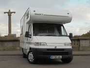 Swift Suntour Swift Suntour 590 RL MOTORHOME **ONLY 57200 MILES** Fiat Ducato 2.5