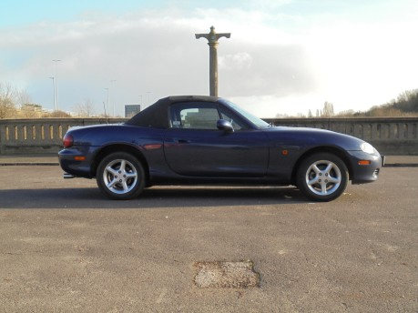 Mazda MX-5 1.6 113250 MILES FULL SERVICE HISTORY TONNEAU COVER WIND-SCARF 16