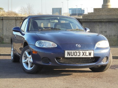 Mazda MX-5 1.6 113250 MILES FULL SERVICE HISTORY TONNEAU COVER WIND-SCARF