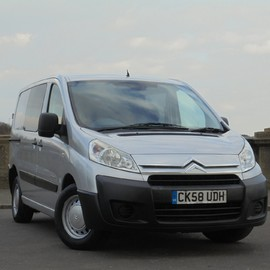 Citroen Dispatch 1000 L1H1 SWB HDI 90 6 SEAT CREW BUS **NO VAT**