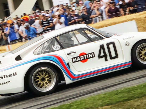 Stars & Cars at the Goodwood Festival of Speed