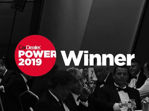 67 Degrees wins Best Website Provider for Independent Dealers at annual Car Dealer Power Awards