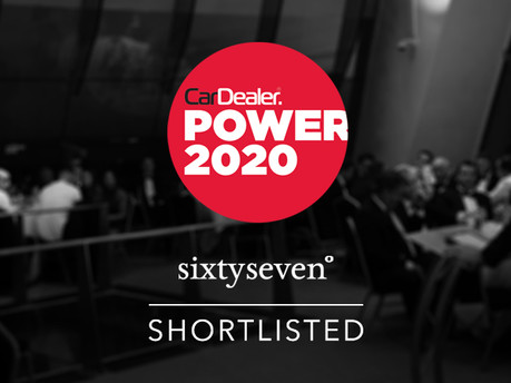We've Been Shortlisted in the Car Dealer Power Awards 2020!