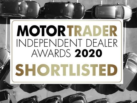 The Motor Trader Independent Dealers Awards 2020 shortlist has been revealed