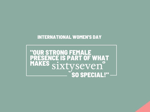 We're Celebrating International Women's Day