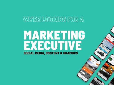 Could you be our new Marketing Executive?