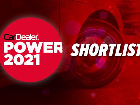 We've Been Shortlisted in the Car Dealer Power Awards 2021!