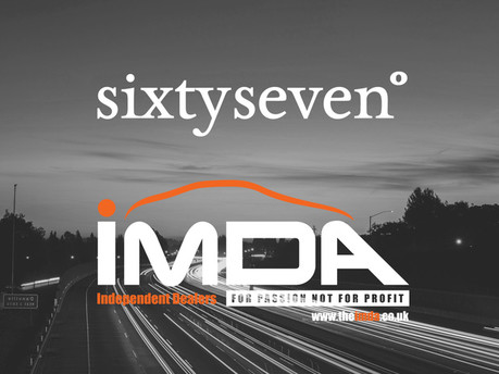 67 Degrees joins Independent Motor Dealer Association as Approved Supplier