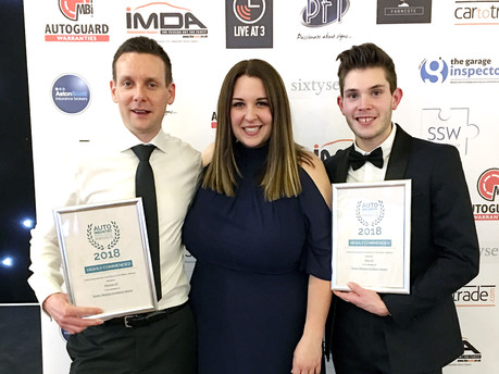 Customer successes at Auto Excellence Awards