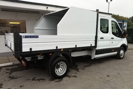 Ford Transit 350 Drw L3 Crew Cab Tipper - with Chip Box 3