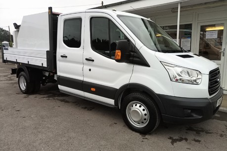 Ford Transit 350 Drw L3 Crew Cab Tipper - with Chip Box 4