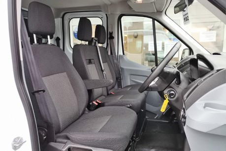 Ford Transit 350 Drw L3 Crew Cab Tipper - with Chip Box 30