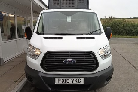 Ford Transit 350 Drw L3 Crew Cab Tipper - with Chip Box 10