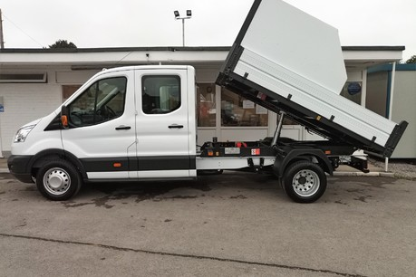 Ford Transit 350 Drw L3 Crew Cab Tipper - with Chip Box 7