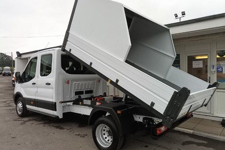 Ford Transit 350 Drw L3 Crew Cab Tipper - with Chip Box 5