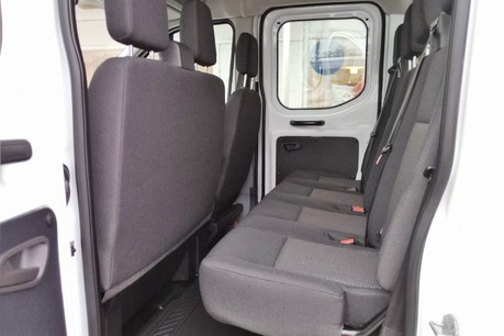 Ford Transit 350 Drw L3 Crew Cab Tipper - with Chip Box 17