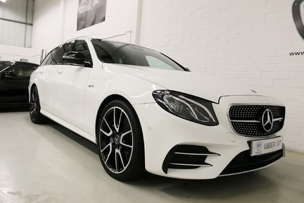 "Mercedes-Benz E Class AMG E 43 4MATIC Premium with Pan Roof, 20"" AMG Alloys 2"
