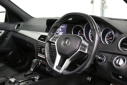 "Mercedes-Benz C Class C63 AMG with 19"" Alloys, Harman Kardon and More 6"