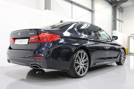 BMW 5 Series 540i xDrive M Sport with a Huge Specification 5
