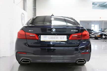 BMW 5 Series 540i xDrive M Sport with a Huge Specification 7