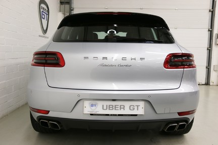 Porsche Macan Turbo PDK with High Spec and Rare Colour Combination 9