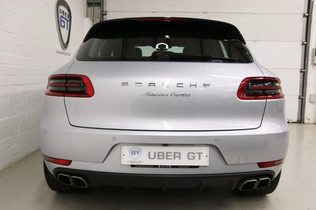 Porsche Macan Turbo PDK with High Spec and Rare Colour Combination Service History