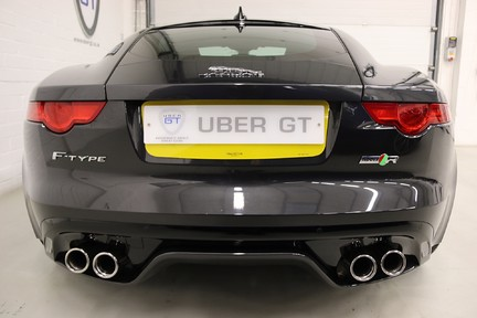 Jaguar F-Type R AWD with a Great Spec and Just Serviced by Jaguar 5
