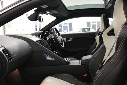 Jaguar F-Type R AWD with a Great Spec and Just Serviced by Jaguar 10