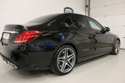 "Mercedes-Benz C Class AMG C 63 Premium with Performance Exhaust and 19"" Alloys 3"