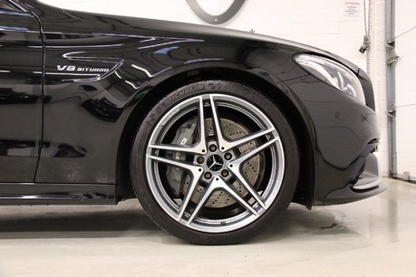 "Mercedes-Benz C Class AMG C 63 Premium with Performance Exhaust and 19"" Alloys Specification"