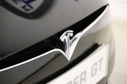 Tesla Model S 100D Premium AWD with a High Specification 10