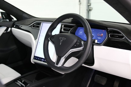 Tesla Model S 100D Premium AWD with a High Specification 4