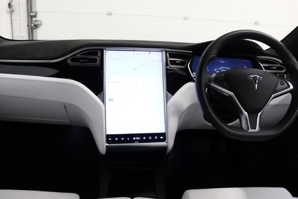 Tesla Model S 100D Premium AWD with a High Specification 16