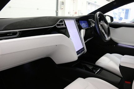 Tesla Model S 100D Premium AWD with a High Specification 18