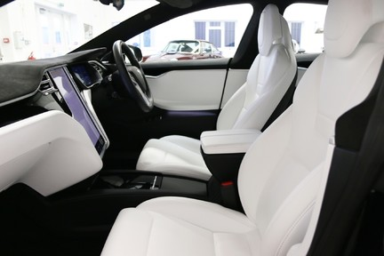 Tesla Model S 100D Premium AWD with a High Specification 19